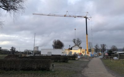 Hotel construction makes progress (January 2020)